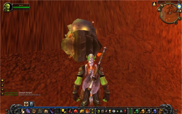 Just mining some copper in Durotar 1