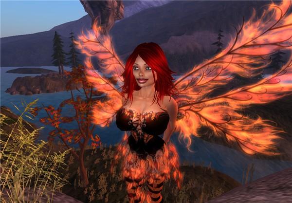 Autumn fairy, making Autumn 2