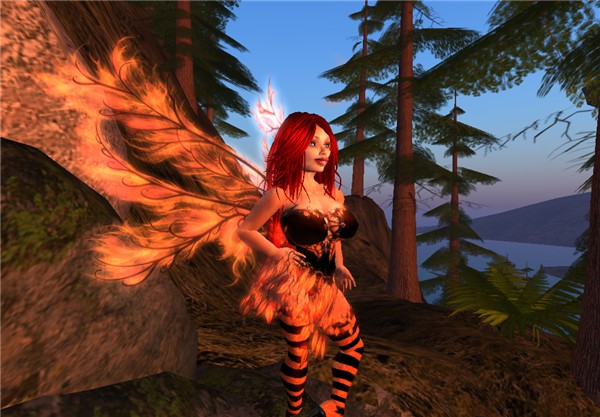 Autumn fairy, making Autumn 3