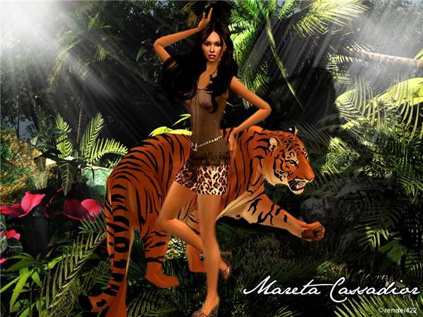 mareta in the jungle