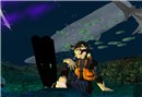 underwater camping - Socks Clawtooth