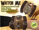 watch me - steampunk wrist watch