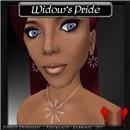 Widow's Pride - Silver w/ Spider