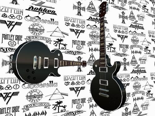 Black Les Paul Gibson Guitar
