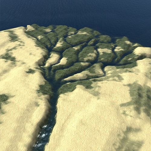 Nile River Delta, Egypt - by Avatrian - Second Life on Koinup