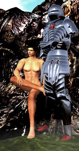The Nudist and the Knight