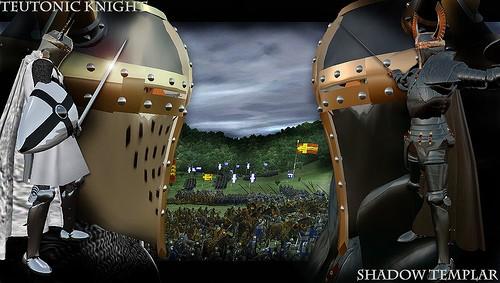 Teutonic Knight vs. Shadow Templar
