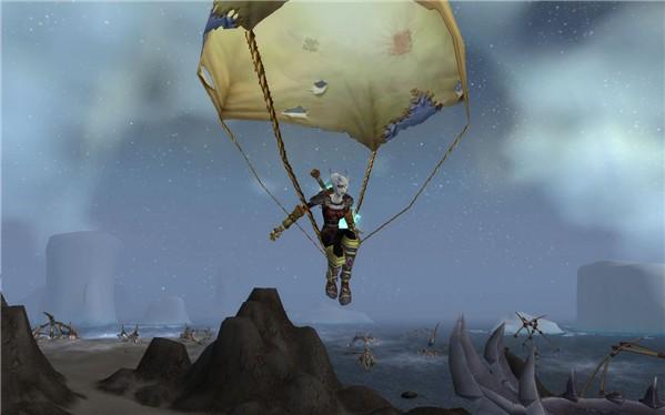 Parachuting in Northrend