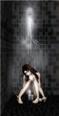 Tearful shower