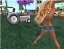 Pappy Cuttin' Grass at HippiePay