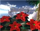 "My Friend kyota's SIM ""Mermaid Temple"" w/ Christmas"