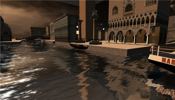 Venice Italy on New World Grid in OpenSim