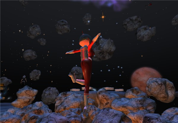 Asteroids jumping