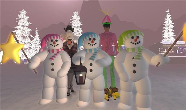 Three snow people - Ravenelle Zugzwang