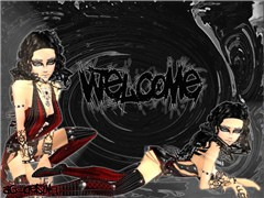 welcome wall paper