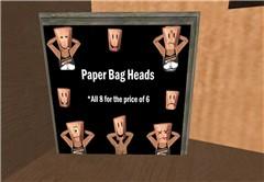 Paper bag masks