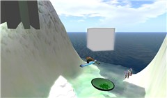 Simboarding at Here! - Jaymes Kjeller
