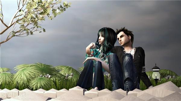 Sora and Kurt (Tutorial Sample Pic)