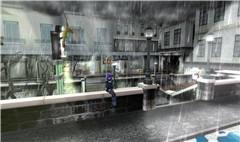 Rainy town_001