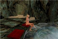 hot spring at Strugatsky