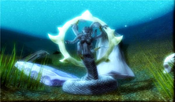 A Naga Goddess