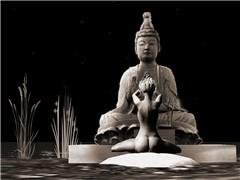 Vanishing Buddha