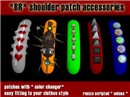 *BR* shoulder patch accessories