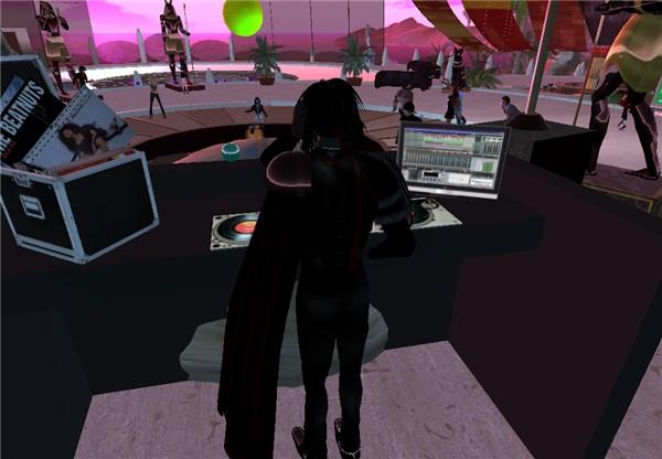 DJ Templar Merlin jamming