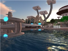 C3 Sky Orca Docks at Extropia Port