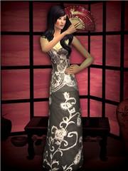Elegant fashion show