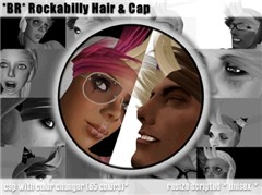 *BR* Rockabilly Hair & Cap