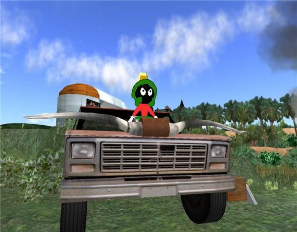 Primitive land-vehicle