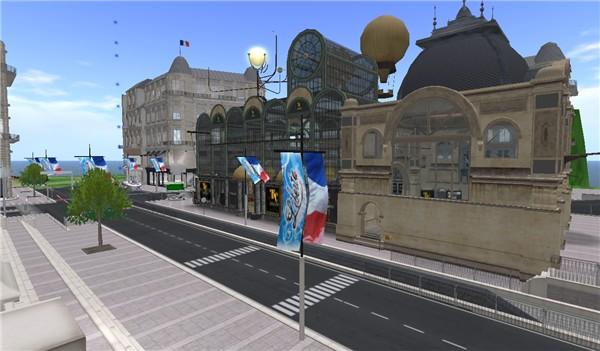 the beauty of virtual paris - Koinup Burt
