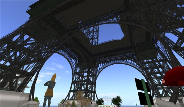 Eiffel in Second Life - Koinup Burt