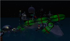 Alien Isles at Night