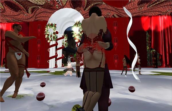 dark isle trashy valentines - watcher Castaignede
