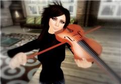 Zaka on The Violin.  (lmao)