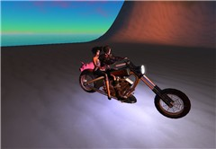 Riding witn La