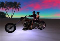 Riding with La