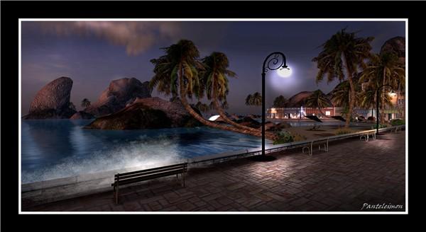 Evening at Las Islas