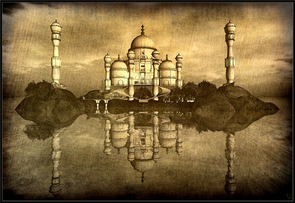 White Taj by Sebcaen