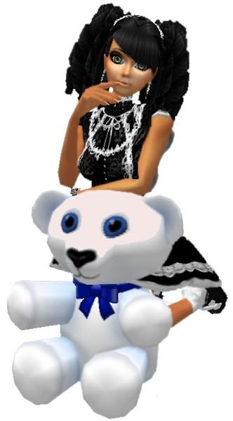 Doll w/ white Teddy