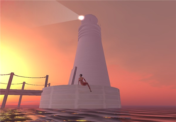 Lighthouse, early morning