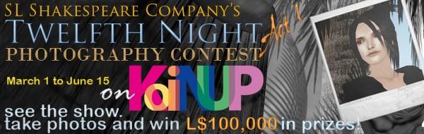twelfth night contest