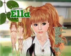 Ella cream theme poster