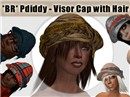 *BR* Pdiddy - Visor Cap with Hair Promo