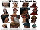*BR* Pdiddy - Visor Cap with Hair Vendor
