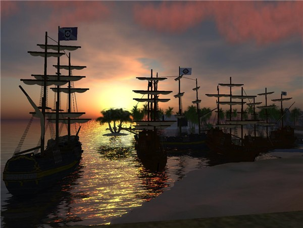 fleet in the Bay
