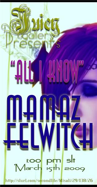 Mamaz Felwitch @ Juicy