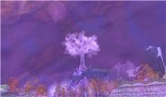 A dreamy white tree